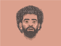 Mohamed Salah Illustration
