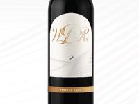 WDR Estates Wine Bottle
