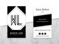 Woven Luxe Boutique Business Cards