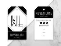 Woven Luxe Boutique Product Hang Tags