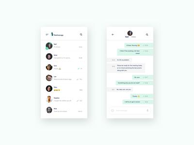 UI Chatting App