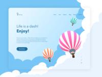 Book Ballon Website
