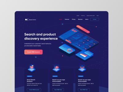 Searchin website - Search service