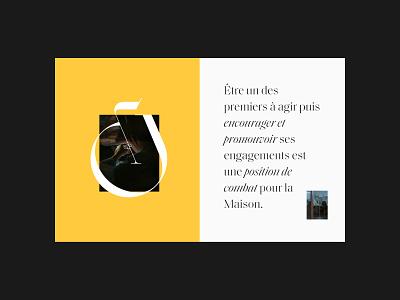 Rubel & Ménasché branding ui premium magazine clean editorial grid layout minimal typography