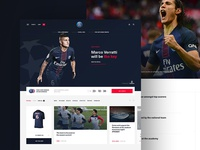Paris Saint-Germain website