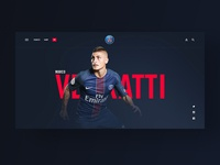 Paris Saint-Germain — Player Page