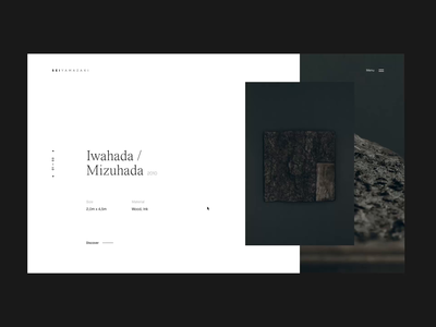 Sei Yamazaki motion ui design editorial animation grid layout minimal typography
