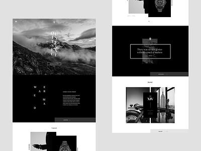 Mad typography minimal layout editorial grid ecommerce shop luxury fashion magazine