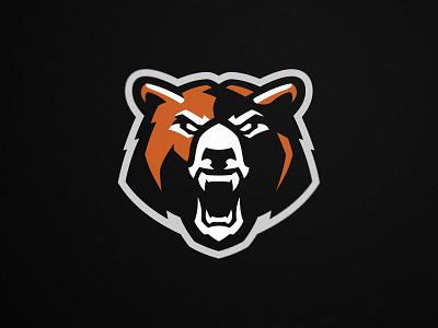 Bear branding team esport grizzly design logos gaming illustration bear mascot logo sport bears