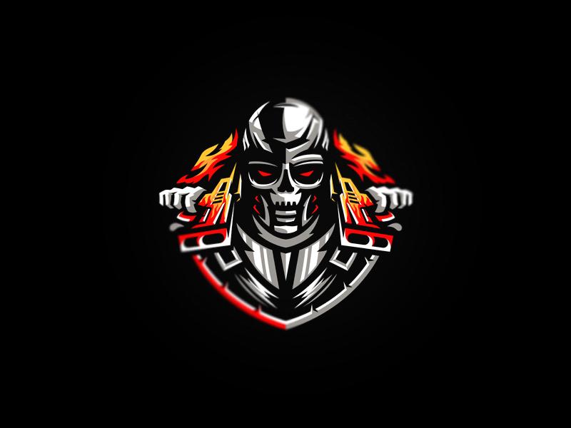 Skull logo logo games multigaming gaming pro team sport skull mascot logos esport