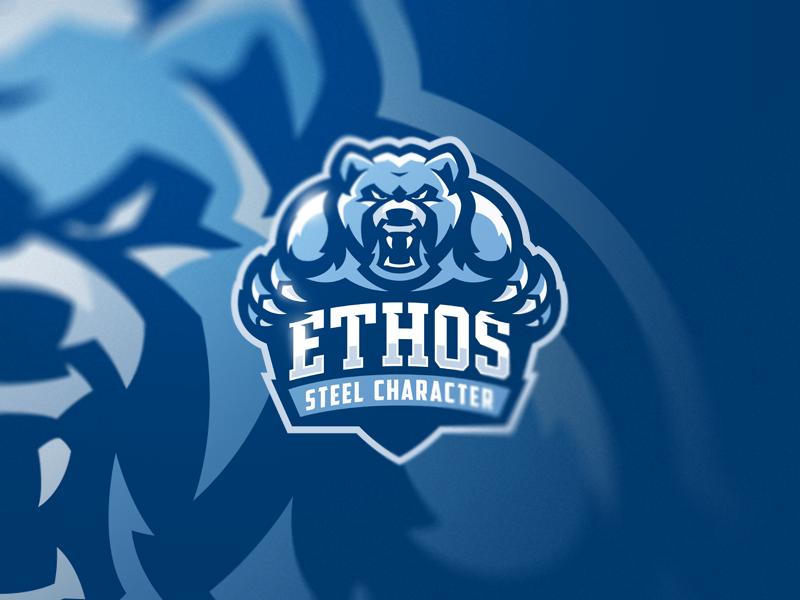 Bears team sport design logo bears mascot esports