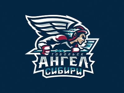 Angel design designs snepz angel mascot team hockey logo sport
