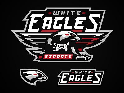Eagles esport logo esports mascot team esports eagles