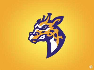 Giraffe giraffes animal esport team mascot logo mascot sport giraffe
