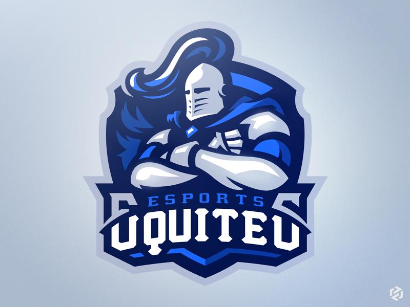 Knights free team esport logo sport branding snepz designs esports knights mascot esport
