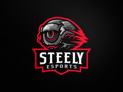 Steely gamer drone gaming sport sale illustration design esport mascot team