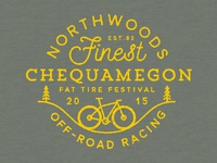 Chequamegon Fat Tire Festival T-shirt