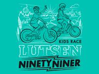 Lutsen Ninety Niner Kids Race T 2018