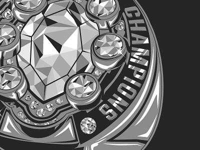 Bling wip illustration ring
