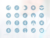Napisan Icon set