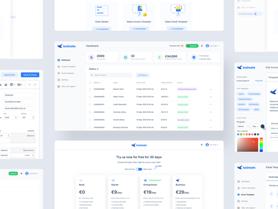 BolMate web minimal enterprise enterprise ux dailyui flat app ux uiux ui design