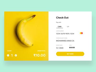 Credit Card Checkout web flat app ux ui uiux design dailyui