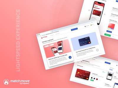 MatchMove LightSpeed web illustration vector icon flat app ux ui uiux design