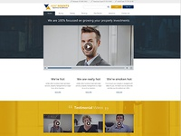 Asset Agents Landing Page