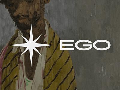 Ego | Logo Design boldmonkey star ego typogaphy logo design branding logo