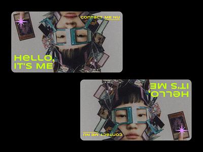 Hello, It's Me - Website ui boldmonkey webdesign website
