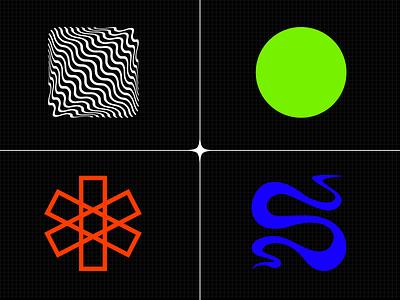 Moodboard logo branding