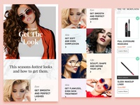 Beauty e-commerce site