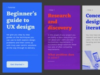UX Guide for beginners