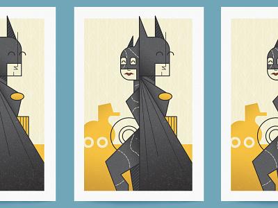 Batman Returns (Pop Art Print) pop art poster design surface design print design midcentury batman returns batman