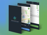 SNOWMOWR iOS APP Design
