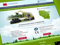 Green Theme Construction Company Website