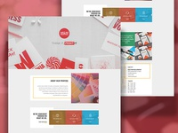 Landing Page for Printing Company