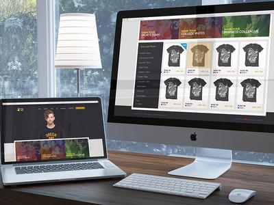 Tshirt Store Website