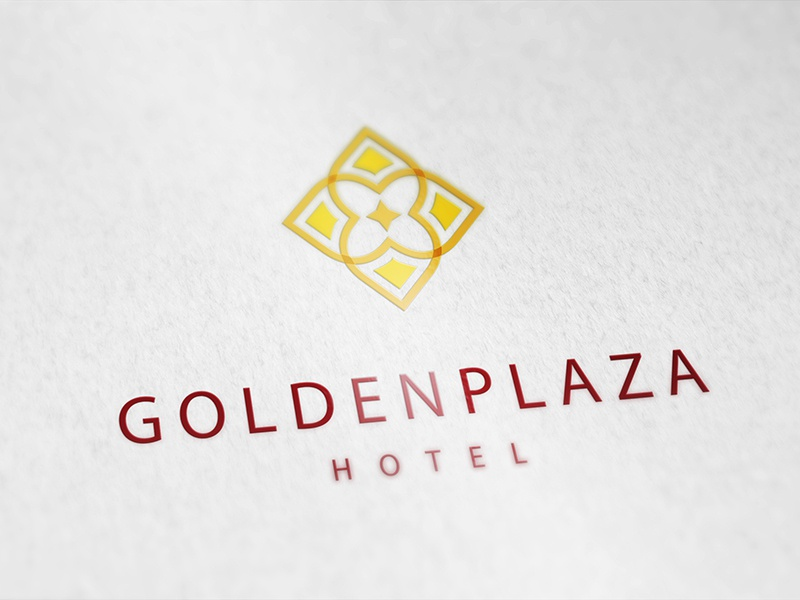 Subtle Logo for a New Hotel design graphics shapes elegant simple subtle floral logo hotel