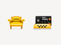 Some Taxi Icons
