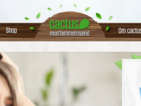 Site header for Cactus anti hangover