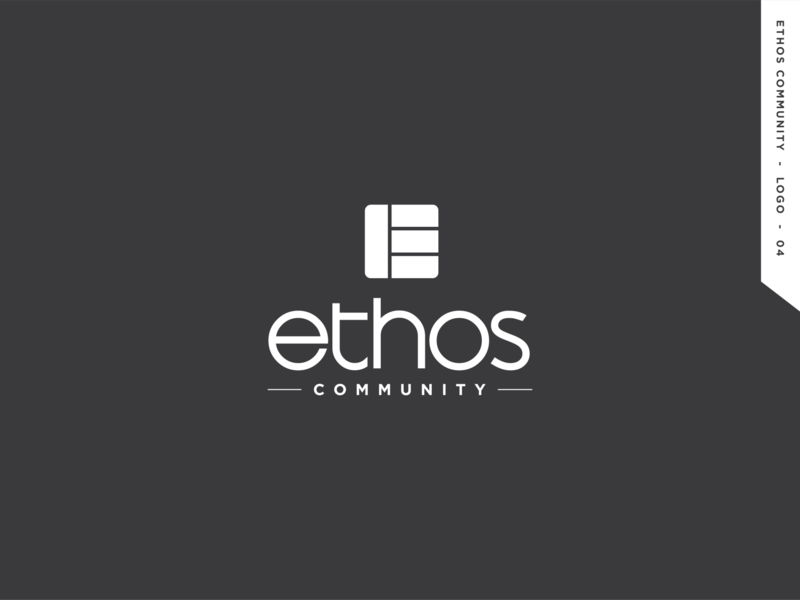 Ethos Community logo design graphic logodesign icon logo branding community ethos