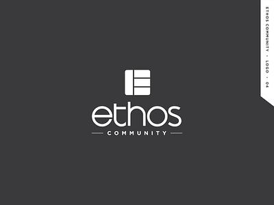 Ethos Community logo design graphic logodesign icon logo branding community ethos