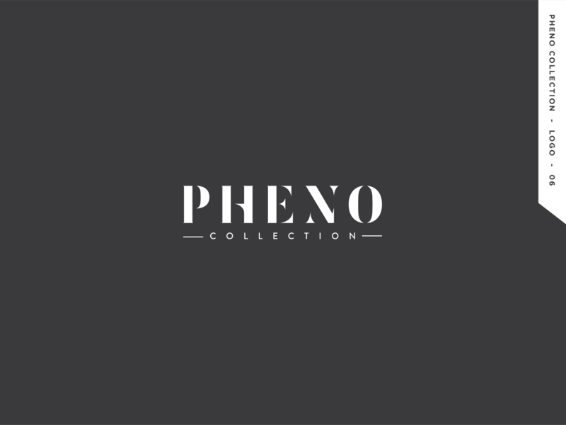 Pheno Collection logo logo design branding logo graphic design design