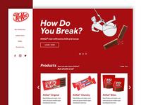 KitKat Homepage Redesign