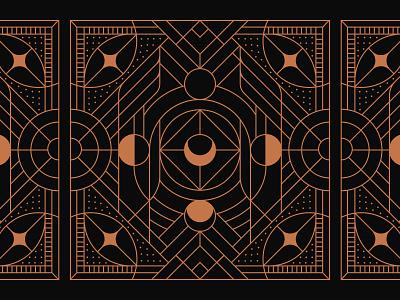 Moonline eye music artwork print branding linework bandana design moon identity mark illustration art minimal geometric logo lineart monoline