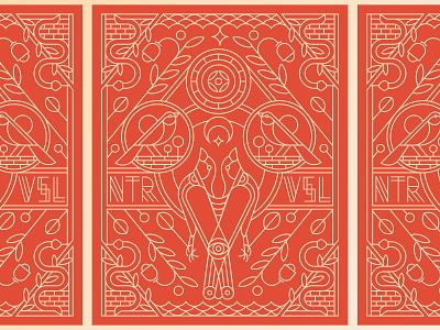 Neature Visual eye nature visual bird bird illustration pattern posters design symbol illustration geometric line branding minimalist postcard lineart packaging print poster design poster