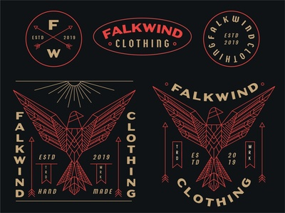 Flakwind Clothing clothing brand typhography type design typo branding skateboarder surf surf apparel apparel graphics apparel design clothing apparel logo type typography identity illustration geometric lineart line