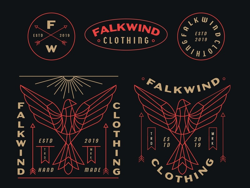 Falkwind 2 t-shirt illustration t-shirt design t-shirt skateboarder skateboard graphics surfers surfer fashion print clothing bird apparel design apparel graphics apparel logo apparel illustration design geometric monoline