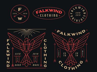 Falkwind 2 t-shirt illustration t-shirt design t-shirt skateboarder skateboard graphics surfers surfer fashion print clothing bird apparel design apparel graphics apparel logo apparel illustration design geometric monoline